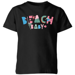 My Little Rascal Beach Baby Kids' T-Shirt - Black