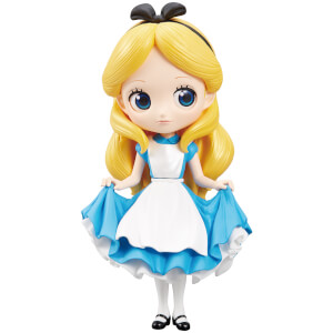 Banpresto Q Posket Disney Alice in Wonderland Alice Figure 14cm (Normal Colour Version)