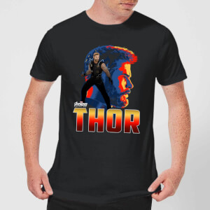 Avengers Thor Men's T-Shirt - Black