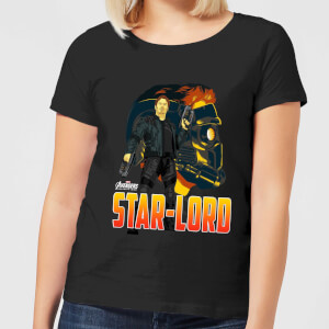 Avengers Star-Lord Women's T-Shirt - Black