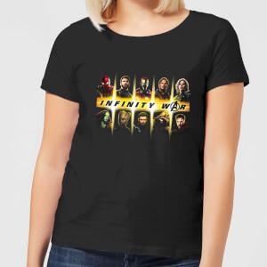 Avengers Team Lineup Women's T-Shirt - Black