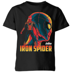 Avengers Iron Spider Kids' T-Shirt - Black