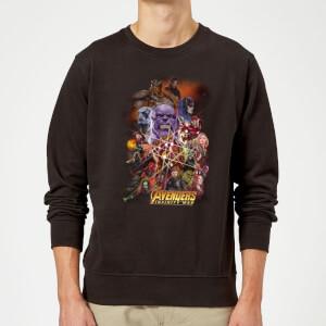 Avengers Team Portrait Pullover - Schwarz