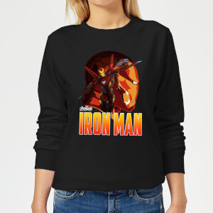 Avengers Iron Man Women's Sweatshirt - Black
