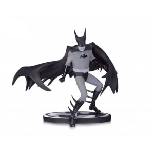Statuette Batman Noir et Blanc par Tony Millionaire DC Collectibles Entertainment Earth Exclusive