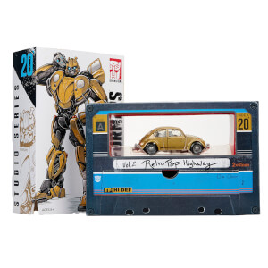 Hasbro Transformers: Studio Series 20 Bumblebee Gold Volkswagen Beetle Vol. 2 Retro Pop Highway