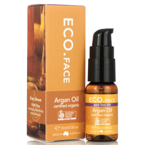 ECO. Certified Organic Argan Face Oil 15ml
