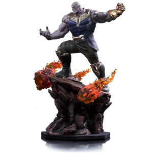 Iron Studios Avengers: Infinity War BDS Art 1/10 Scale Thanos Statue 35cm