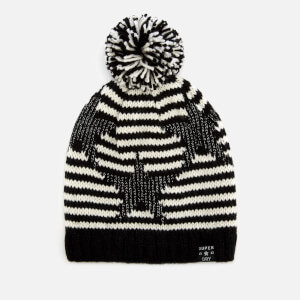 Superdry Women's Star Lurex Beanie - Mono