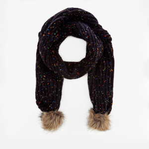 Superdry Women's Zoe Nep Scarf - Black Nep