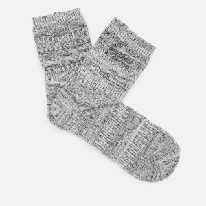 Superdry Women's All Over Sparkle Socks (Double Pack) - Pewter/Cream Sparkle