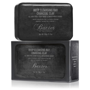 Baxter of California Deep Cleansing Bar Charcoal Clay -palasaippua