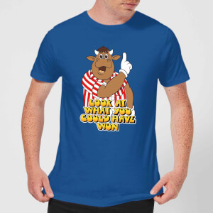 Camiseta Bullseye Look At What You Could Have Won - Hombre - Azul