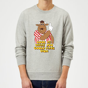 Bullseye Look At What You Could Have Won Sweatshirt - Grey