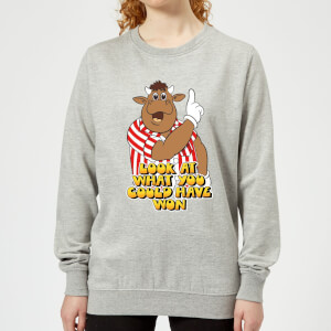 Bullseye Look At What You Could Have Won Women's Sweatshirt - Grey