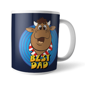 Bullseye Best Dad Mug Mug