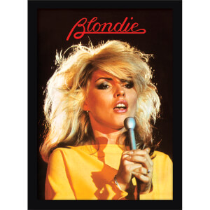 Blondie (Heart of Glass) Framed 30 x 40cm Print