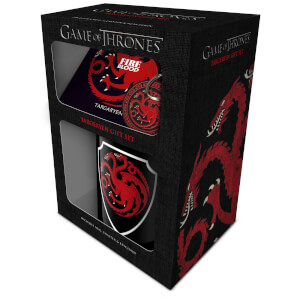 Game Of Thrones (Targaryen) Mug, Coaster and Keychain Set