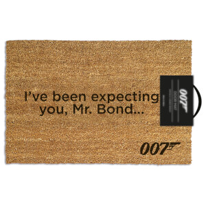James Bond (I've Been Expecting You) Doormat