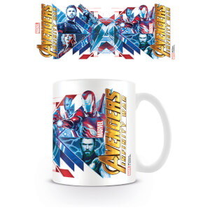 Avengers: Infinity War (Red Blue Assemble) Coffee Mug
