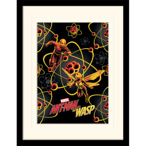 Ant-Man and The Wasp (Atomic) Mounted & Framed 30 x 40cm Print