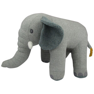 Albetta Grey Knit Eli Toy