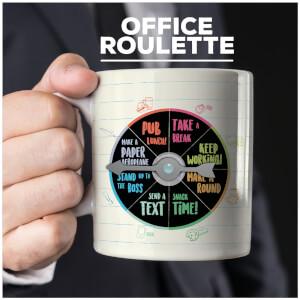 Entscheidungs-Tasse - Büro Roulette