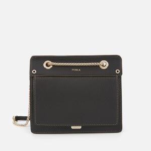 Furla Women's Like Mini Chain Cross Body Bag - Onyx