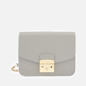 Furla Women's Metropolis Small Cross Body Bag - Grey