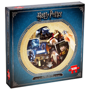 Harry Potter Kids Round 500 Piece Puzzle - Philosophers Stone