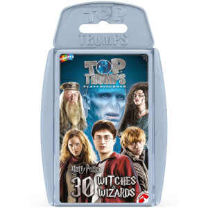 Top Trumps Card Game - Harry Potter Greatest Witches and Wizards Edition