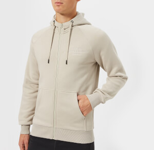 Peak Performance Men's Logo Hoody - Mortar Grey