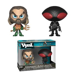 Aquaman & Black Manta Vynl.