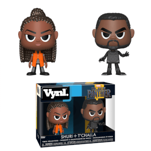 Figuras Funko Vynl. Black Panther & Shuri - Marvel Black Panther