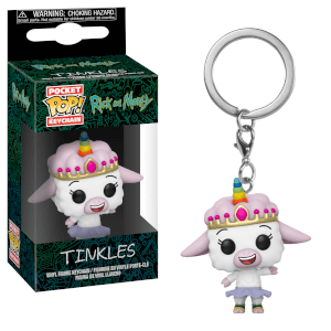 Rick and Morty Tinkles Pop! Vinyl Keychain