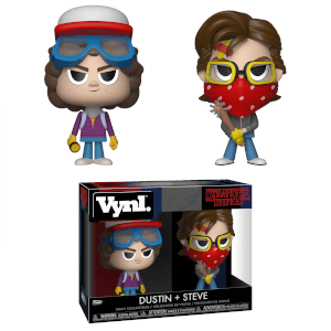 Stranger Things Steve & Dustin Funko Vynl.