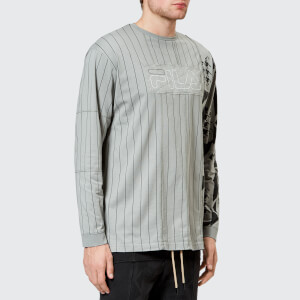 FILA X Liam Hodges Men's Long Sleeve Stripe T-Shirt - Grey Stripe