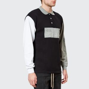 FILA X Liam Hodges Men's Long Sleeve Polo Shirt - Multi