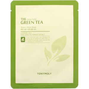 TONYMOLY The Chok Chok Green Tea Sheet Mask - Free Gift
