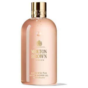 Molton Brown Jasmine & Sun Rose Bath & Shower Gel -kylpy- ja suihkugeeli
