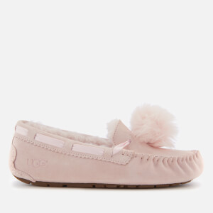 UGG Women's Dakota Moccasin Suede Slippers - Seashell Pink