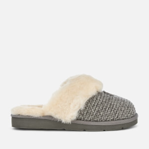 UGG Women's Cozy Knit Slippers - Charcoal