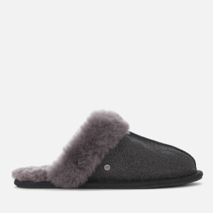 UGG Women's Scuffette II Sparkle Slippers - Black