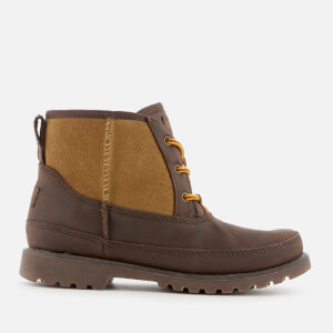 UGG Kid's Bradley Water Resistant Lace-Up Boots - Stout: Image 1