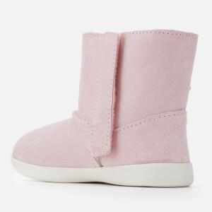 UGG Toddler's Keelan Sparkle Suede Boots - Baby Pink: Image 2