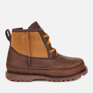 UGG Kid's Bradley Water Resistant Lace-Up Boots - Stout