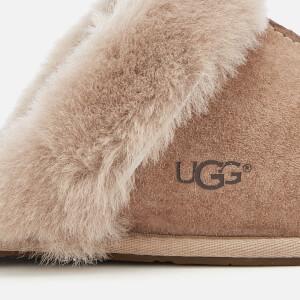 UGG Women's Scuffette II Sheepskin Slippers - Fawn: Image 4
