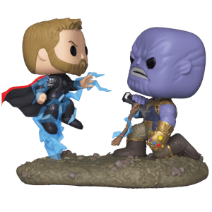 Figurine Pop! Movie Moment Thor VS Thanos Marvel Infinity War