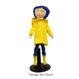 NECA Coraline - Articulated Figure - Coraline in Rain Coat