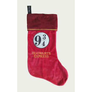 Harry Potter 9 3/4 Fleece Christmas Stocking